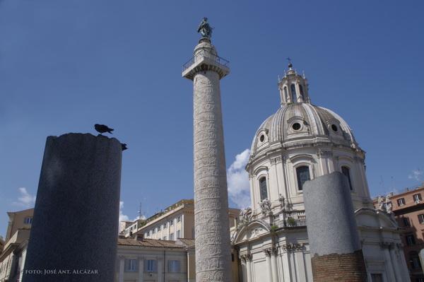 Columna de Trajano. Imagen original, sin procesado ni edición.