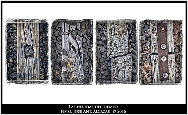 """Fotografía Las heridas del tiempo - Finalista """"Caminos de Hierro 2016"""""""