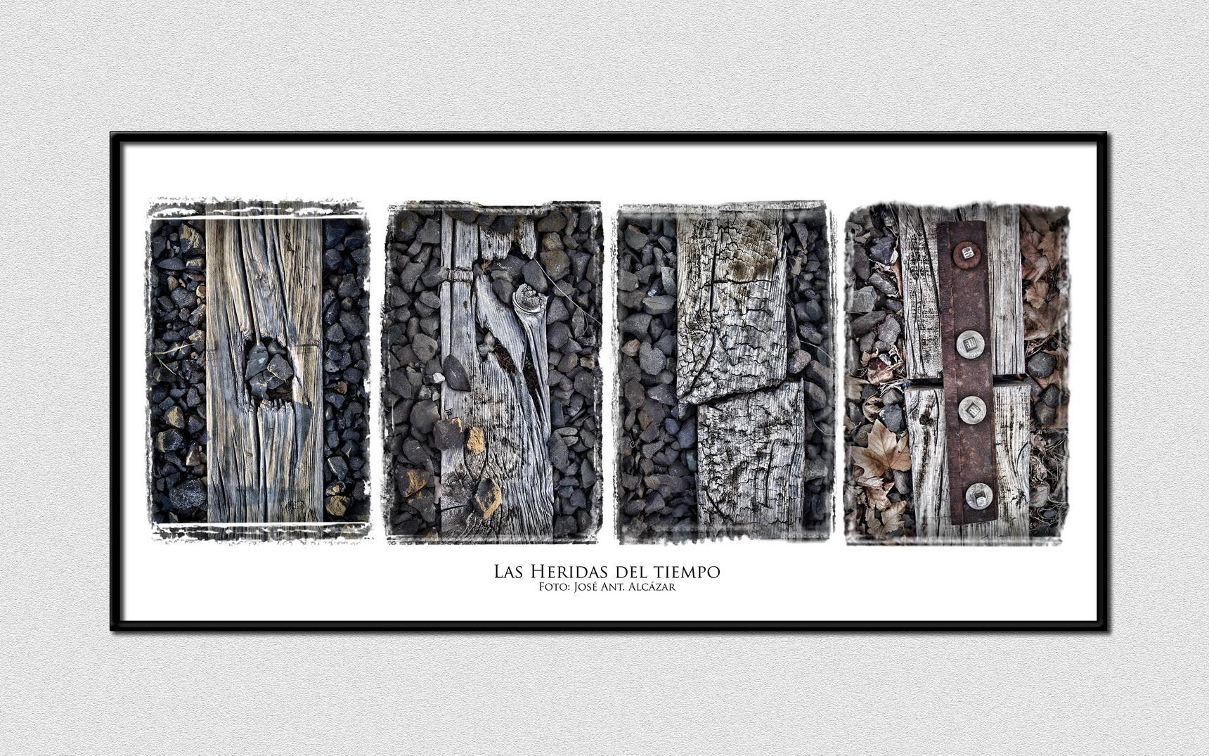 """""""Las heridas del tiempo"""" de José Antonio Alcázar- Finalista en el concurso Caminos de Hierro (2016)"""